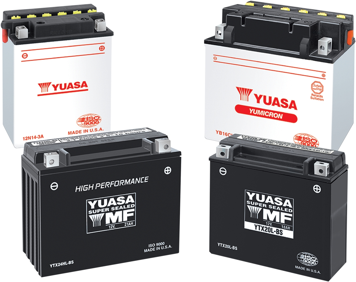 Yuasa High Performance Maintenance Free Battery