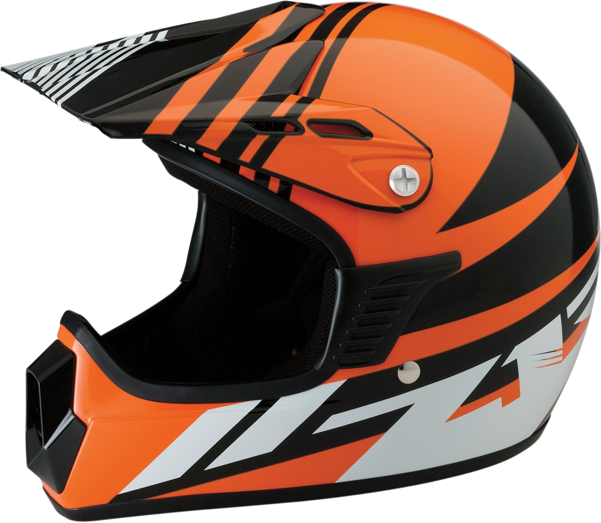 z1r kids roost se motocross dirt bike motorcycle helmet. Black Bedroom Furniture Sets. Home Design Ideas