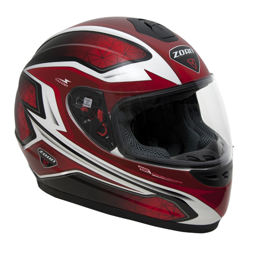 Thunder Full-Face Electric Shield Electra Graphic Snow Helmet