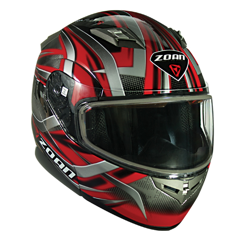 Flux 4.1 Modular Devil Graphic Snow Helmet