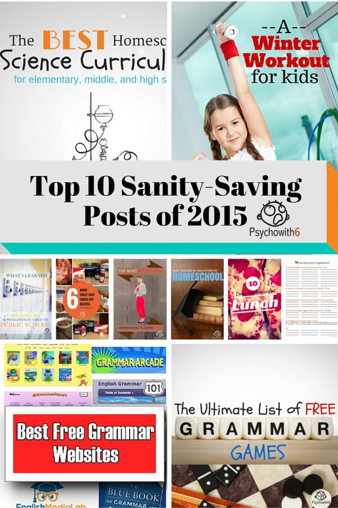 Top 10 Sanity-Saving Posts of 2015