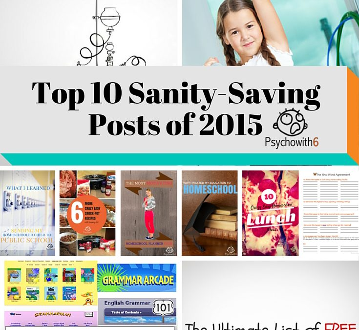 Top 10 Sanity-Saving Posts from 2015 & What You Can Expect in 2016