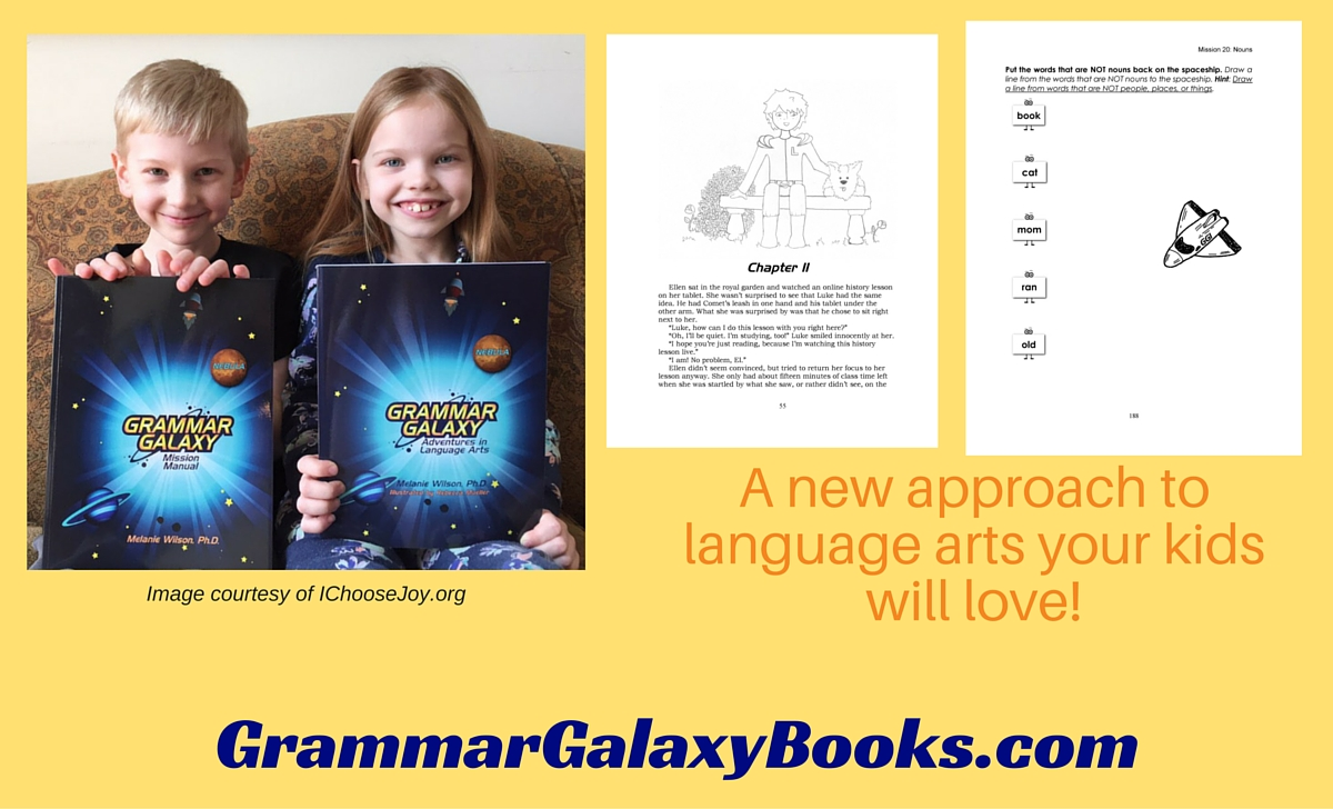 Grammar Galaxy Books: Language Arts Curriculum for Beginning Readers