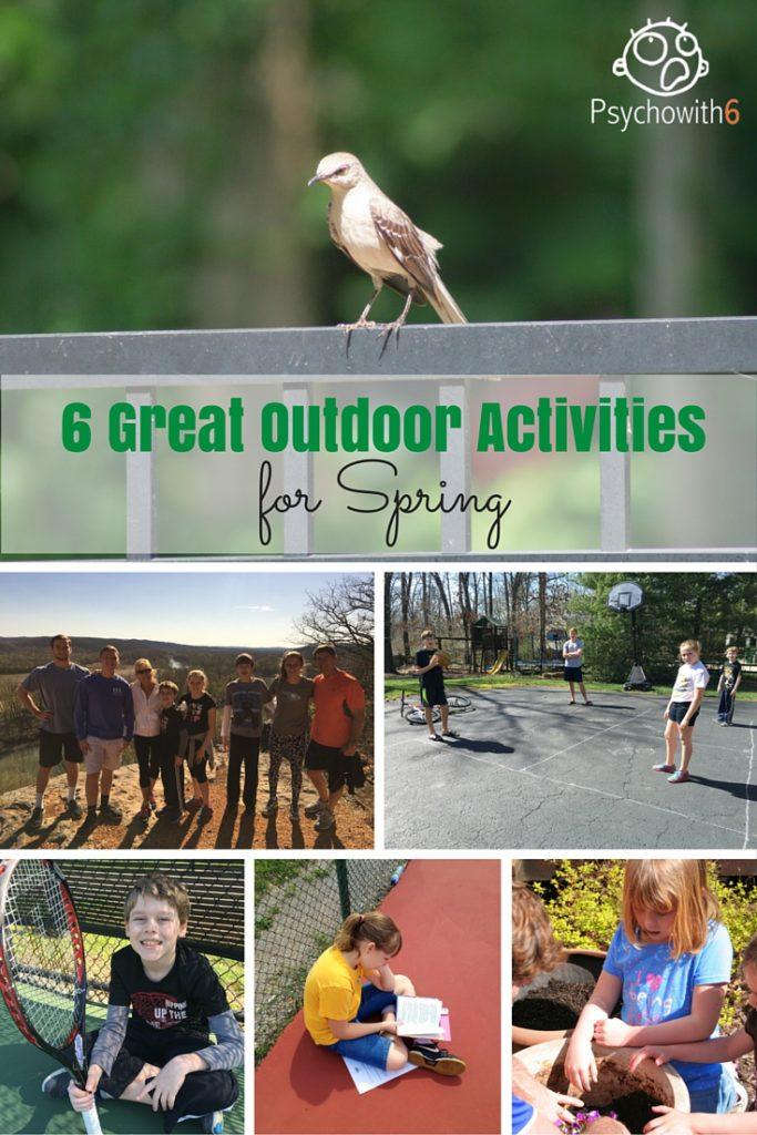 6 Great Outdoor Homeschool Activities