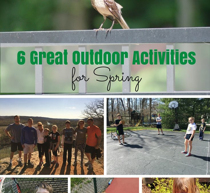 6 Great Outdoor Activities for Spring