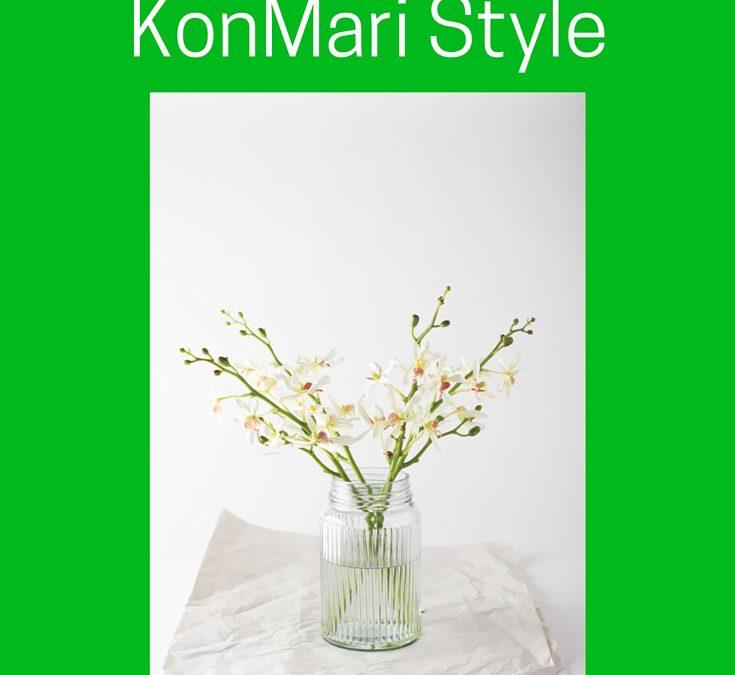 Spring Cleaning KonMari Style