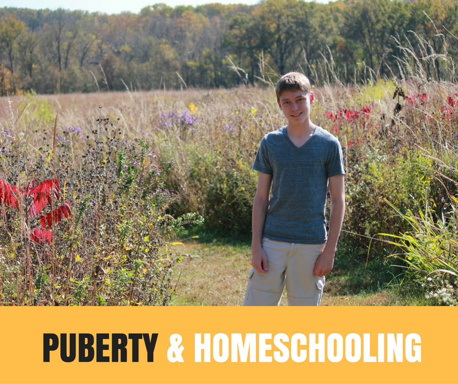 PUBERTY & HOMESCHOOLING