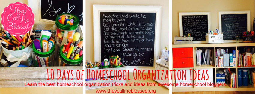 10 Days of Homeschool Organization