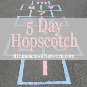 5 Day iHomeschool Network Hopscotch