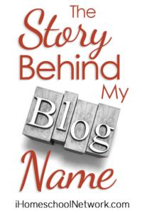 iHN story behind my blog name