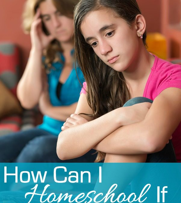 How can I homeschool if my kids won't listen?