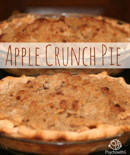 Apple Crunch Pie