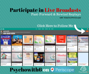 Psychowith6 Watch on Periscope