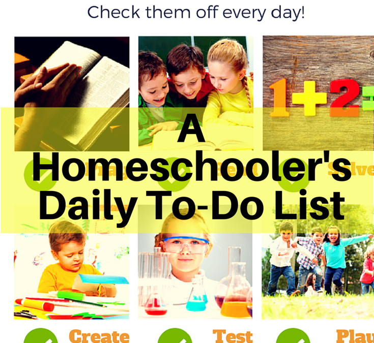A Homeschooler's Daily To-Do List