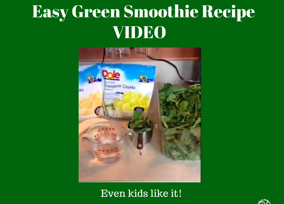 An Easy Green Smoothie Recipe