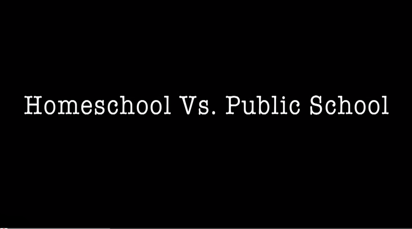 Homeschool vs. Public School for High School [VIDEO]