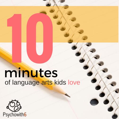 10 Minutes of Language Arts Kids Love