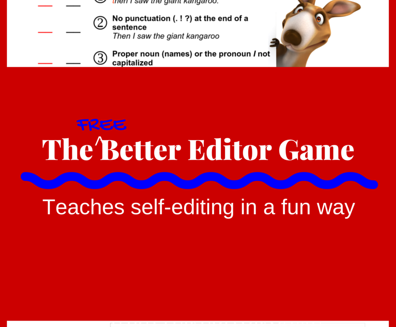 The Better Editor Game