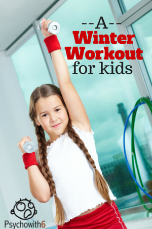 A Winter Workout for Kids