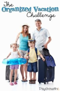 Get organized so you don't have to take a vacation after your vacation!
