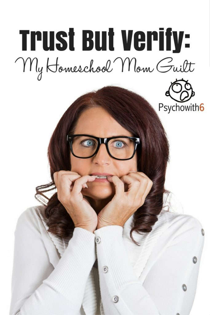 Trust But Verify: My Homeschool Mom Guilt