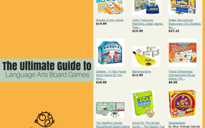 Ultimate Guide to Language Arts Board Games
