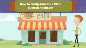 Animaker walk cycle
