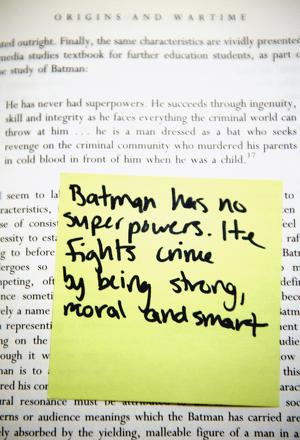 Nonfiction study strategies