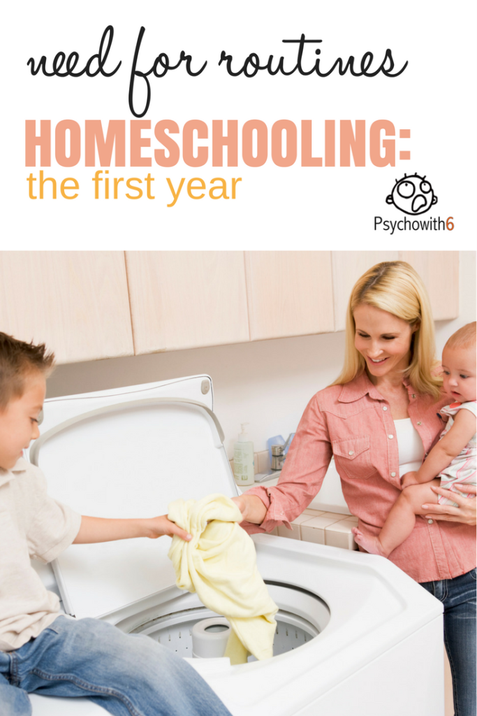 The need for routines in the first year of homeschooling