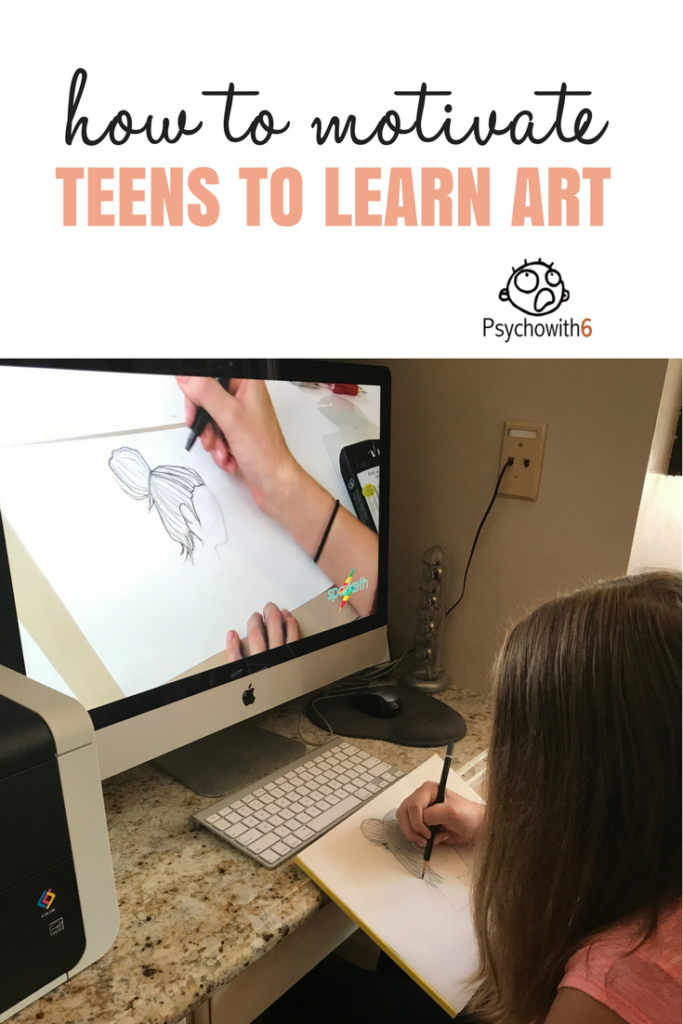 How to Motivate Teens to Learn ARt