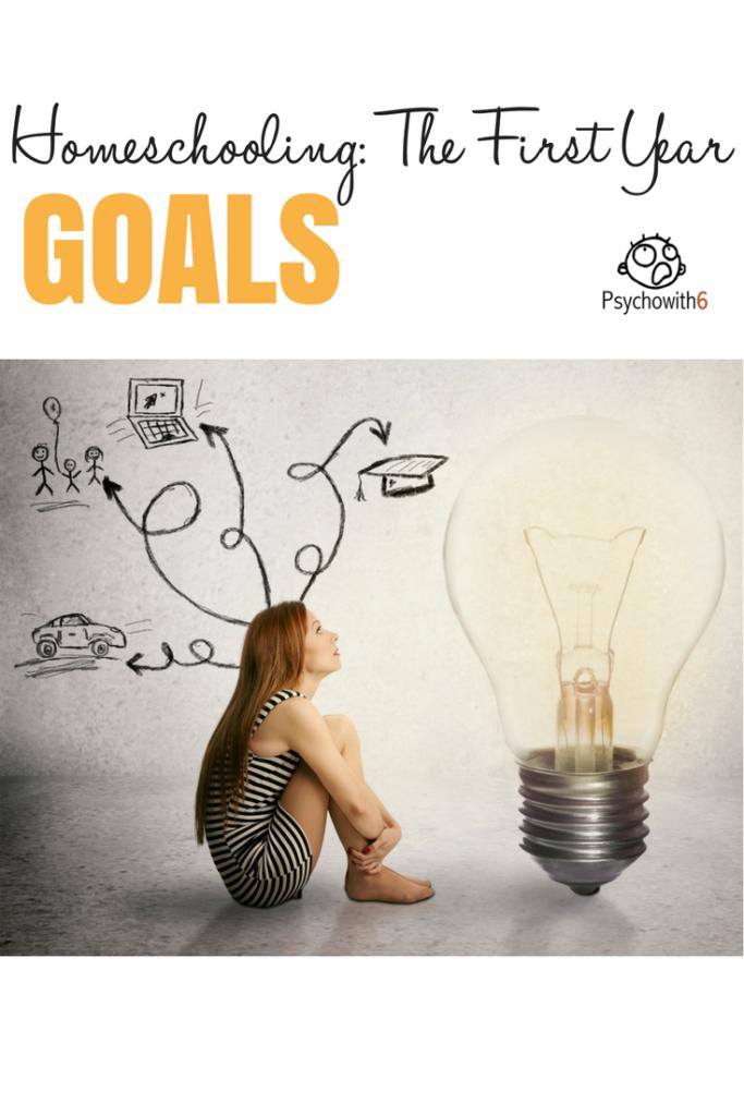 Goals First Year Homeschooling