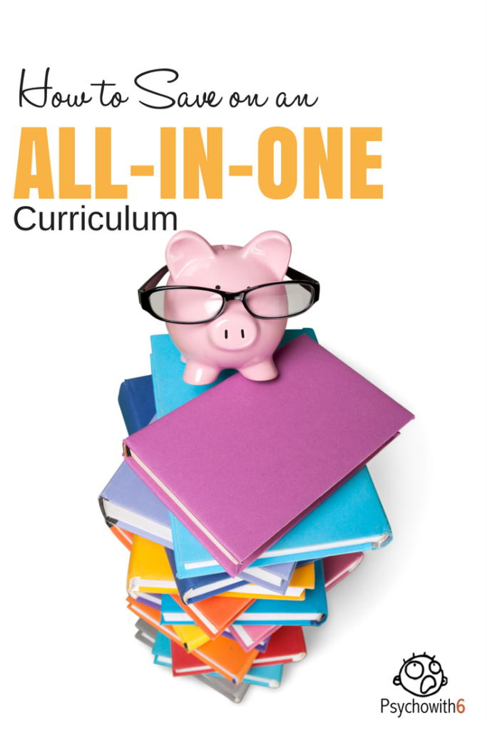 How to save on all-in-one curriculum