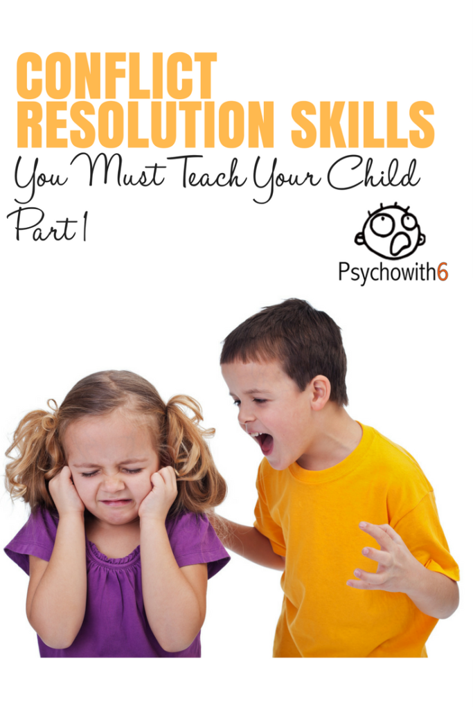 Conflict Resolution Skills You Must Teach Your Child #christianparenting #conflictresolution