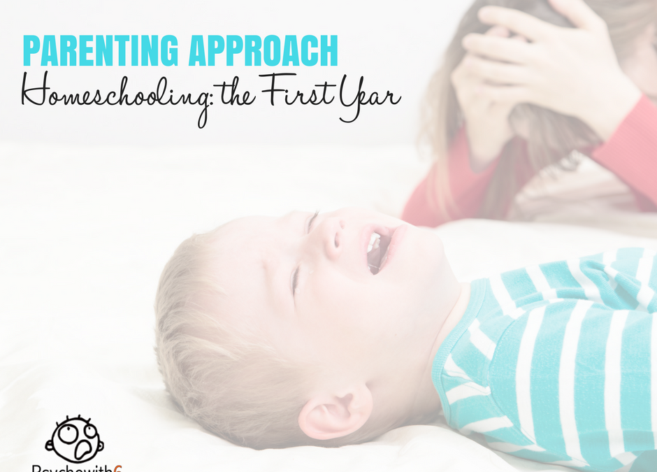 Your Parenting Approach: Homeschooling, the First Year