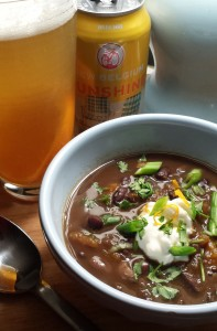 black bean soup with orange1