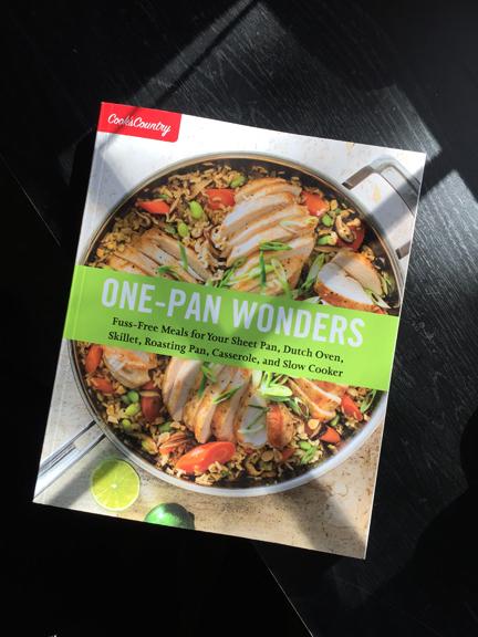 One Pan Wonders Test Kitchen
