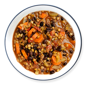 chunky-lentil-and-veggie-soup