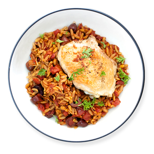 skillet-chicken-with-orzo
