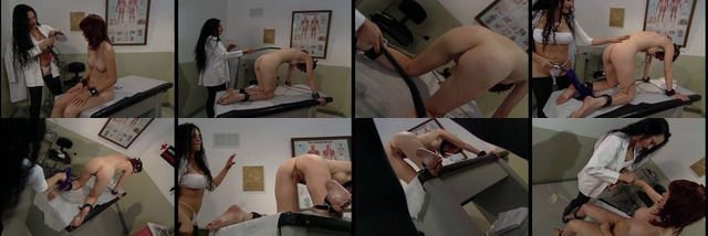 Nurse has BDSM fun with female patient