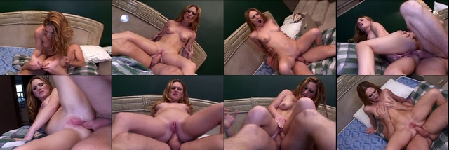 Hot military redhead sucks sergeant's cock and swallows load for the nation