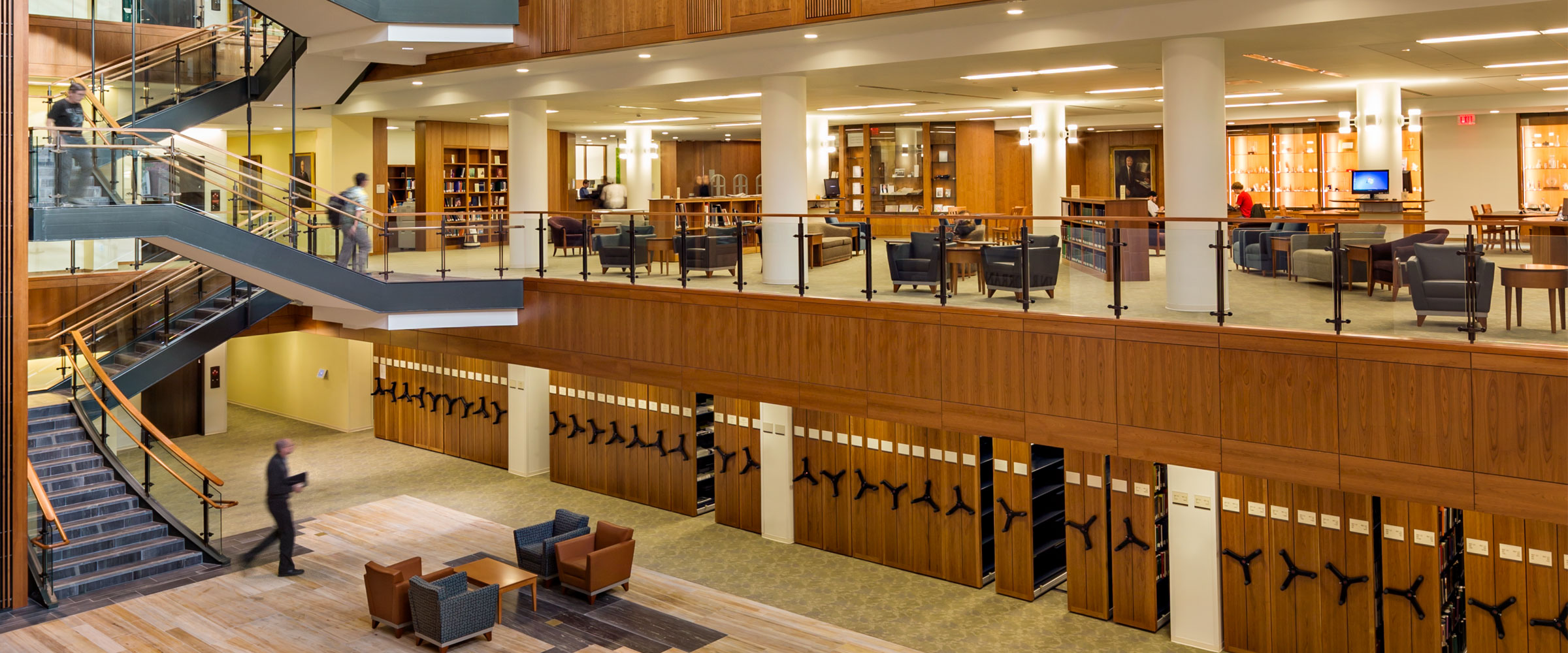Home Page Photo - Library Atrium