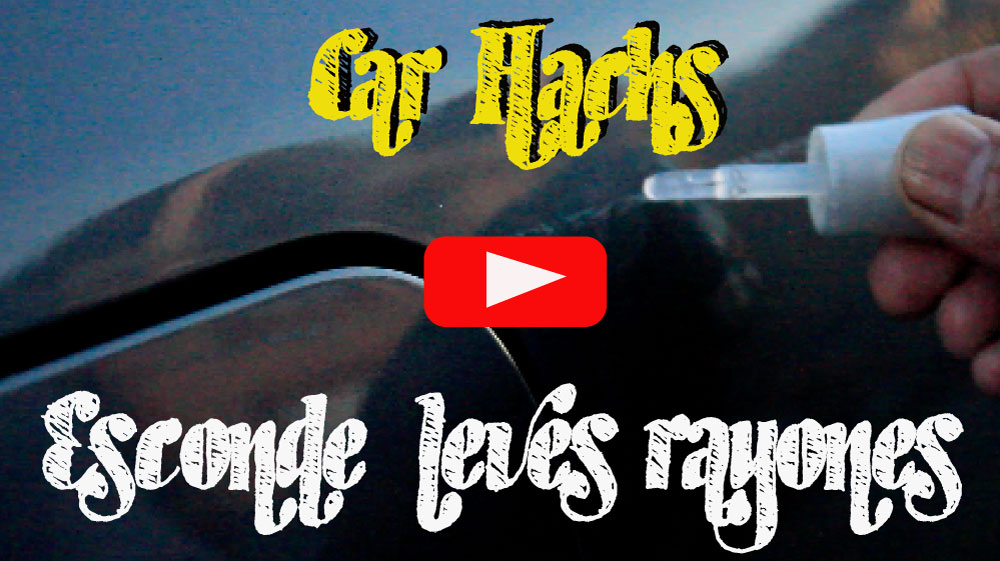 Esconde los rayones y raspones superficiales – Car Hacks Motorbit