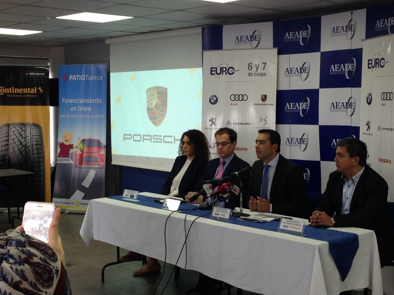 """Genaro Baldeón, presidente ejecutivo de la AEADE, presenta el """"EUROSHOW 2017""""."""