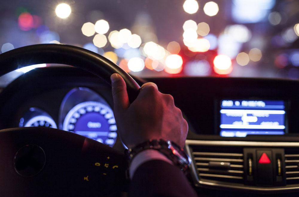 Accidente Automovilístico - Manejando