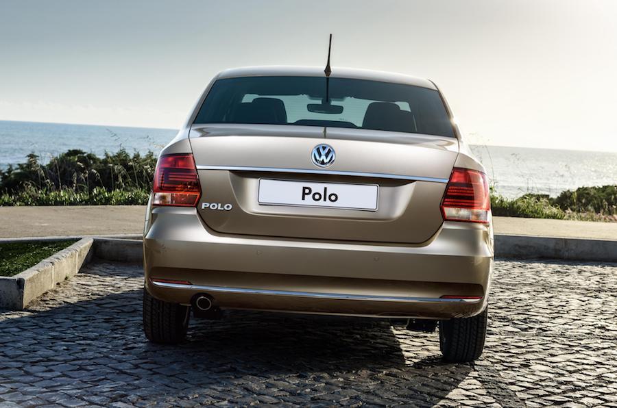 Parte trasera del nuevo Volkswagen Polo.