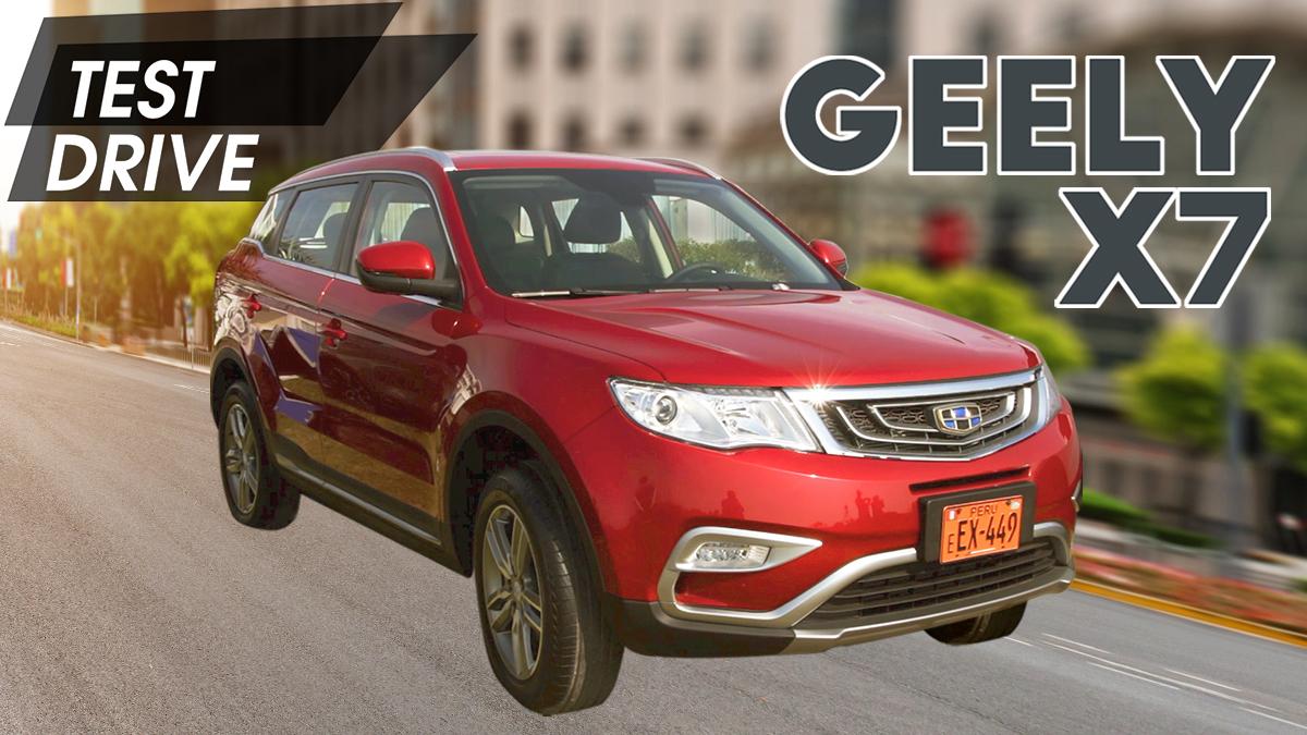 Test Drive: Probamos la Geely GS y X7 Sport (Segunda parte)