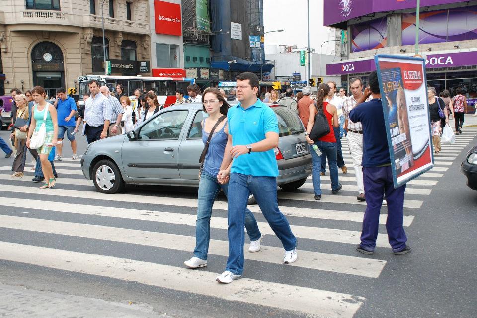 Resultado de imagen para dia del peaton en argentina