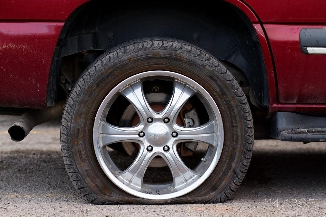 Si el neumático no cuenta con un nivel óptimo de aire