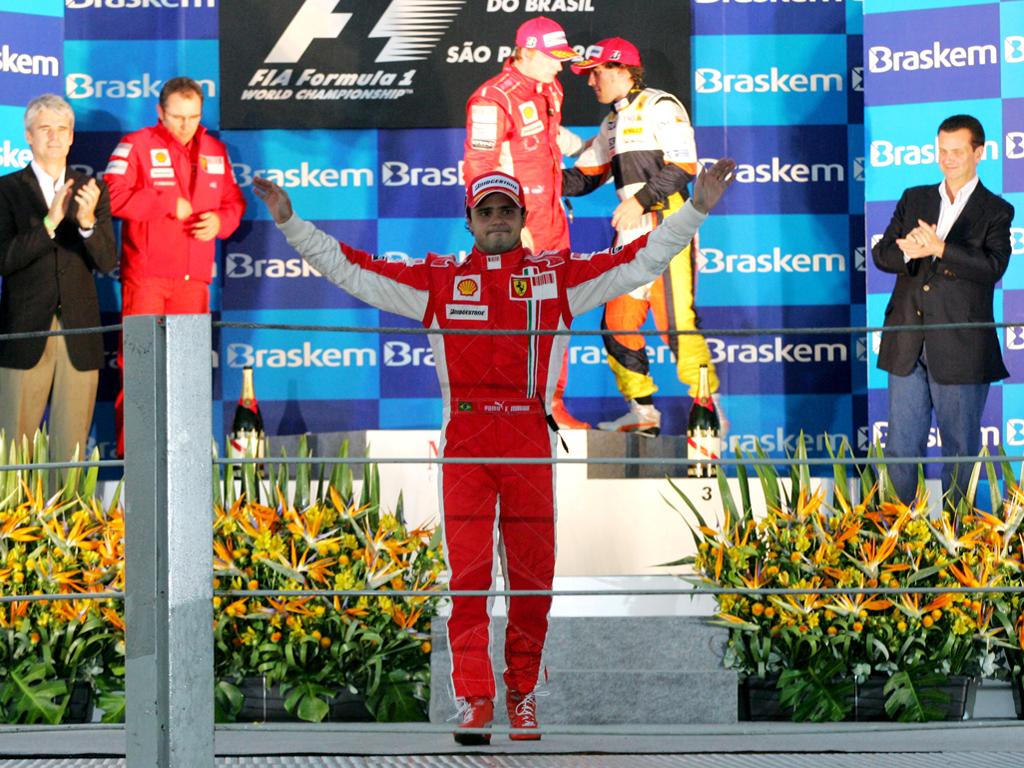 El llanto de Massa en Sao Paulo en 2008 es una de las derrotas más memorables en el deporte en tiempo reciente.