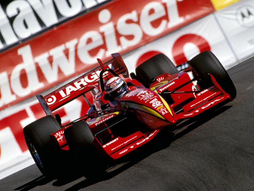 Zanardi ganó por primera vez en CART en 1996. Un joven Zanardi dejó Europa en 1995 para hacer una carrera en Estados Unidos.